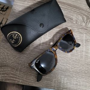 Raybans with case